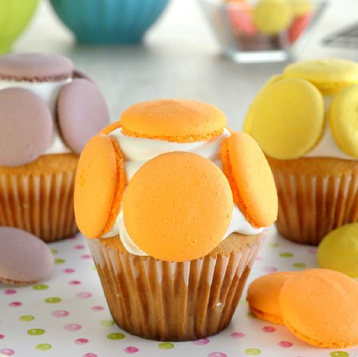 Cupcakes de Cítricos